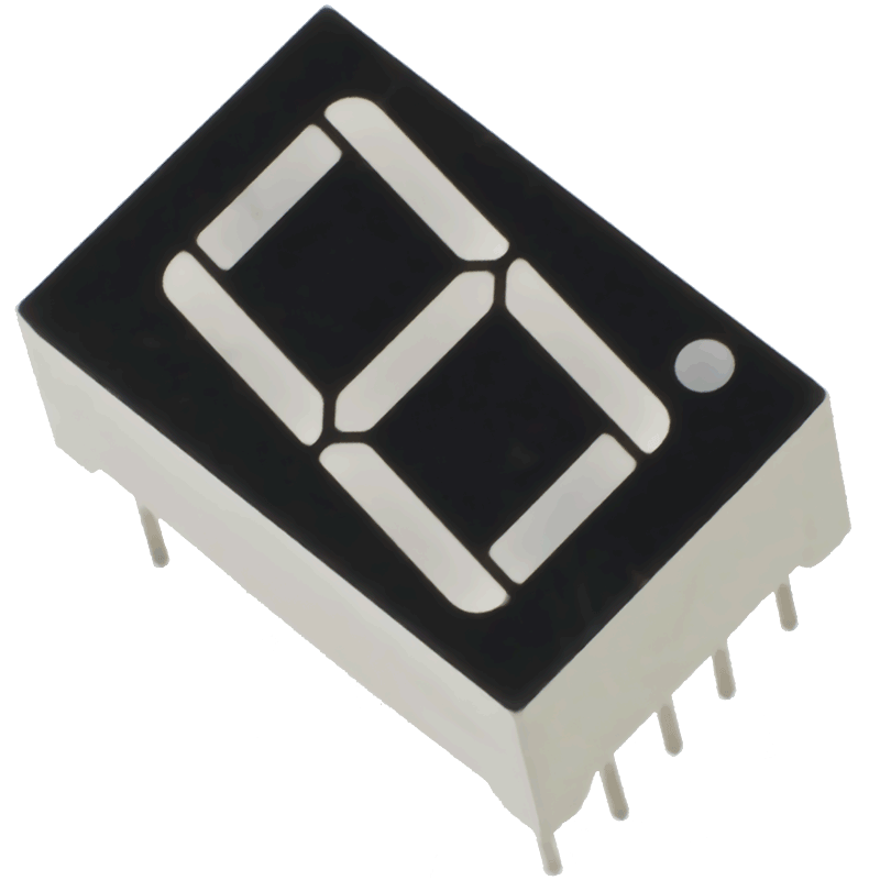 7-segment LED (1 digit)