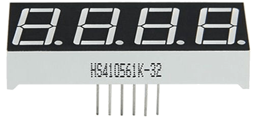 7-segment LED (4 digits)