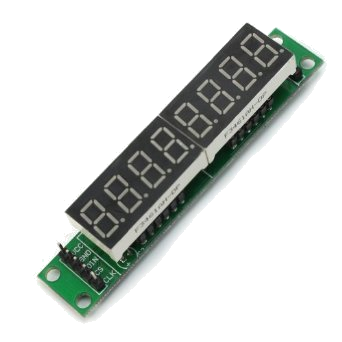 7-segment LED (8 digits)
