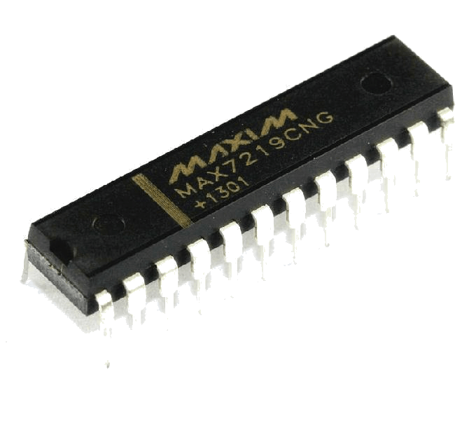 MAX7219 LED driver chip