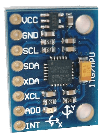 GY-521 gyro and accelerometer
