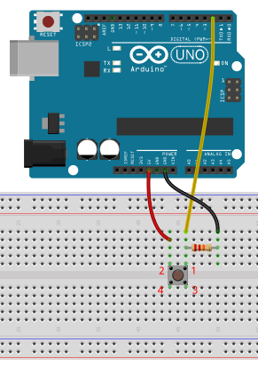 Push button connections